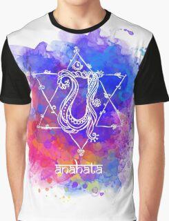Anahata Chakra Symbol Graphic T-Shirt
