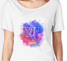 Anahata Chakra Symbol Women's Relaxed Fit T-Shirt