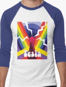 Nikola Psychedelica Men's Baseball ¾ T-Shirt