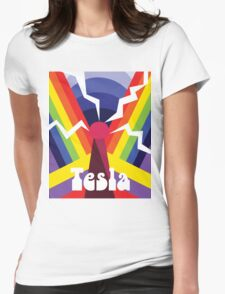Nikola Psychedelica Womens Fitted T-Shirt