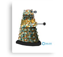 Dalek dot Metal Print