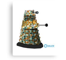 Dalek dot Canvas Print