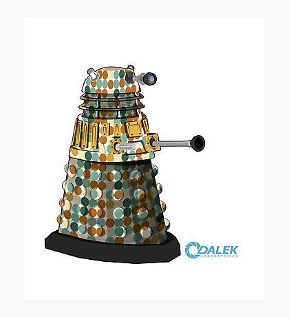 Dalek dot Photographic Print