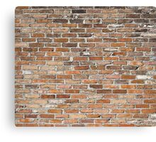 bricks Canvas Print