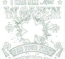 IRISH WOMEN by HotTShirts