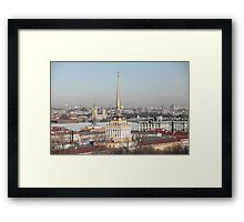 spire of the Admiralty  Framed Print