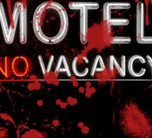 Bloody Bates Motel Sticker