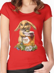 Honey Bunny Women's Fitted Scoop T-Shirt