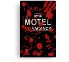 I Survived Bloody Bates Motel Canvas Print