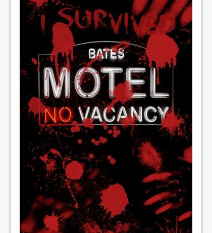 I Survived Bloody Bates Motel Sticker