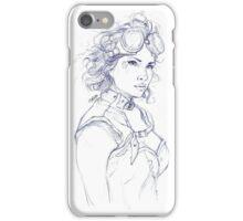 Steampunk Girl iPhone Case/Skin