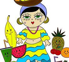The Tutti Frutti Dance by lamaisonjuju