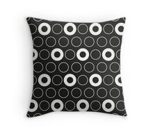 Tracery of dots Throw Pillow