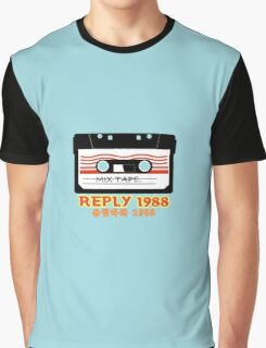reply 1988.cassette Graphic T-Shirt