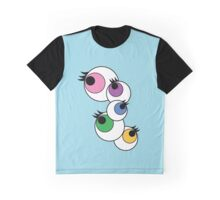 Eyeball Creepy Kawaii Kyary Pamyu Pamyu Pon Pon Pon Graphic T-Shirt