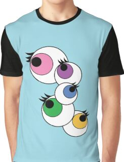Eyeball Creepy Kawaii Kyary Pamyu Pamyu Pon Pon Pon Graphic T-Shirt