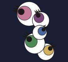 Eyeball Creepy Kawaii Kyary Pamyu Pamyu Pon Pon Pon One Piece - Short Sleeve