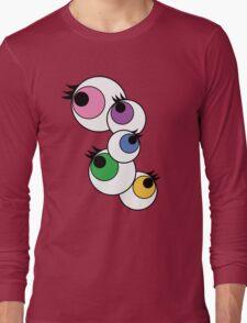 Eyeball Creepy Kawaii Kyary Pamyu Pamyu Pon Pon Pon Long Sleeve T-Shirt
