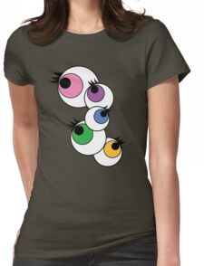 Eyeball Creepy Kawaii Kyary Pamyu Pamyu Pon Pon Pon Womens Fitted T-Shirt