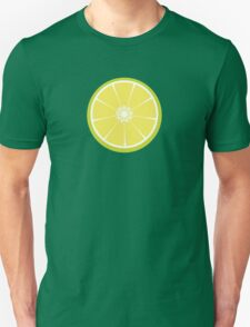slice of a lime Unisex T-Shirt