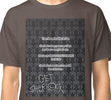 BBC Sherlock-Moriarty funny quote Classic T-Shirt