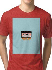 reply 1988.cassette Tri-blend T-Shirt