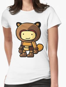 tanuki Womens Fitted T-Shirt