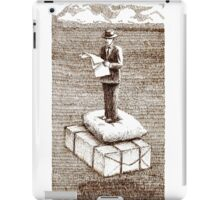 Reading The Past Times News iPad Case/Skin