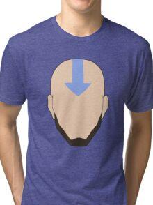 Avatar Aang (Adult) Tri-blend T-Shirt