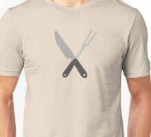 knife and fork Unisex T-Shirt