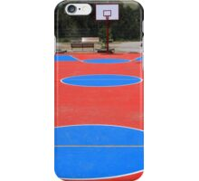 Outdoor Basketball Court iPhone Case/Skin