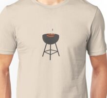 BBQ with sausages Unisex T-Shirt