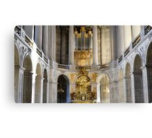 The Royal Chapel Canvas Print