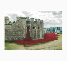 Poppies at The Tower Baby Tee