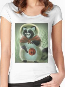 tanuki Women's Fitted Scoop T-Shirt