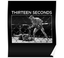Thirteen Seconds Poster
