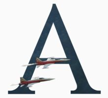 A for Airplanes Kids Tee