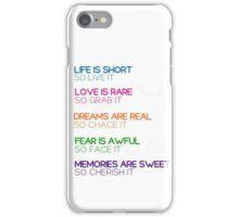 Quotes iPhone Case/Skin