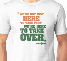 Conor McGregor - Quotes [TakeOver] Unisex T-Shirt