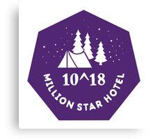 Million Star Hotel Canvas Print