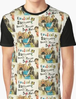 Cynical & Sarcastic Graphic T-Shirt