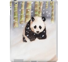 Panda In The Snow iPad Case/Skin