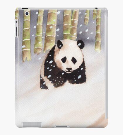 Panda In The Snow iPad Case/Skin