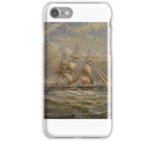 George Napier  RUNNING DOWN THE FIRTH OF CLYDE iPhone Case/Skin
