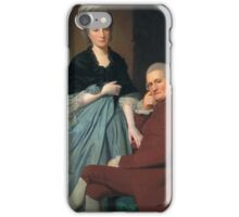 George Romney - Mr and Mrs William Lindow, Tate Britain iPhone Case/Skin