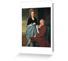 George Romney - Mr and Mrs William Lindow, Tate Britain Greeting Card