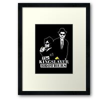 The kings layer brothers- Game of Thrones Framed Print