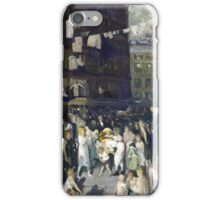 George Wesley Bellows  CLIFF DWELLERS iPhone Case/Skin