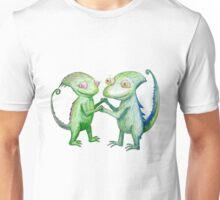 Dancing Chameleons Unisex T-Shirt