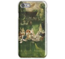 George Wesley Bellows , TENNIS TOURNAMENT iPhone Case/Skin